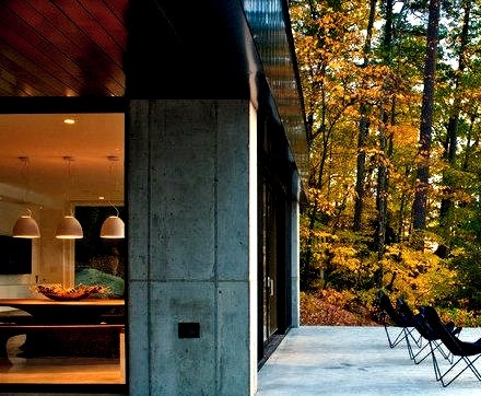 Cantilever House Lake Dunmore Vt